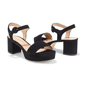 Like new M. Gemi the Lizza chunky platform heels